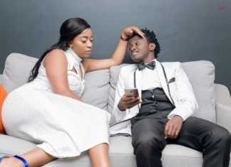 Bahati-with his wife