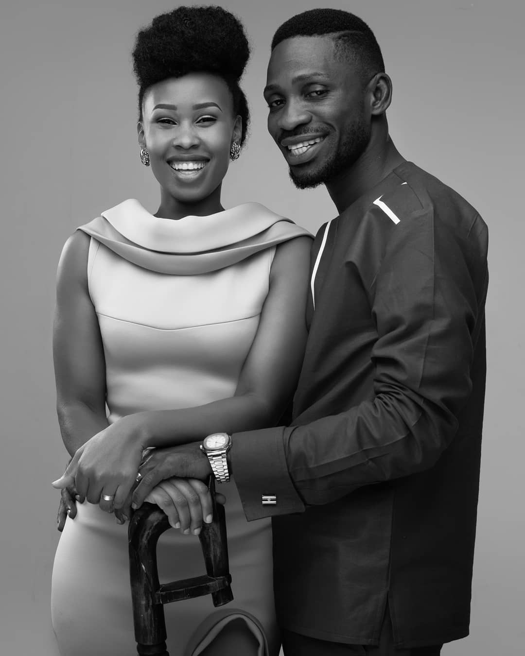 Bobi wine and his wife - Bobi Wine announces his bid for presidential candidacy