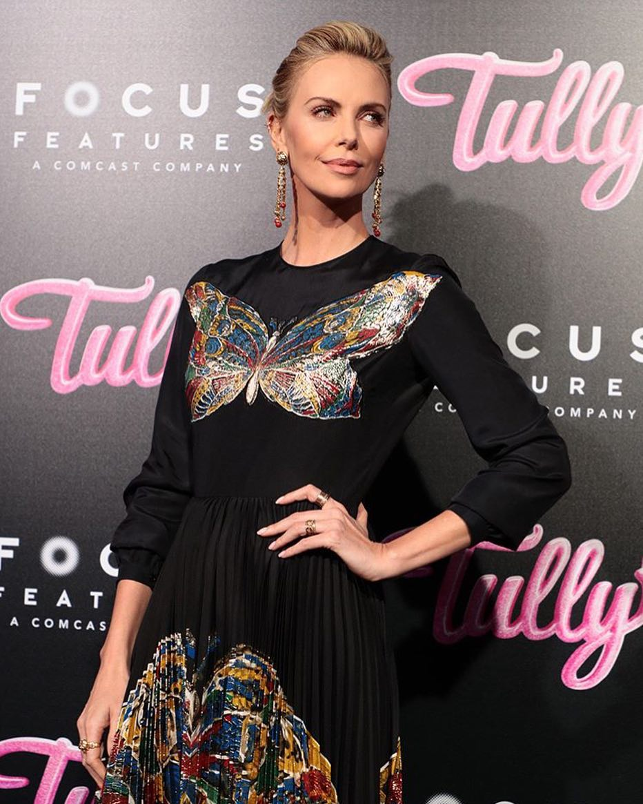 Charlize Theron1 - Charlize Theron says she is raising boy she adopted from Africa as a girl