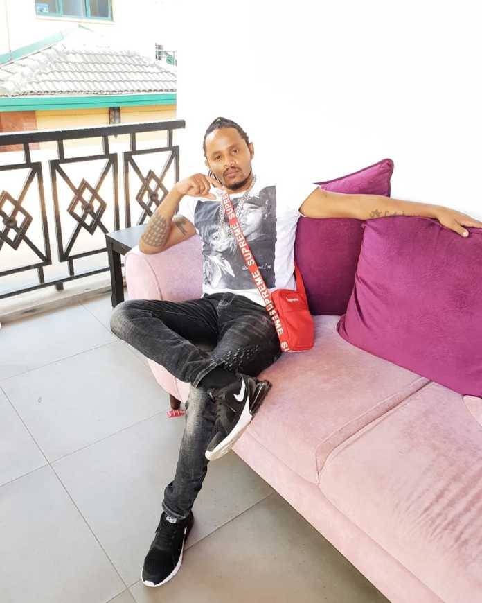 I moved on that same evening', DJ Kalonje said after he ended his 7