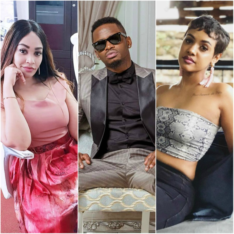 Diamond Tanasha Zari collage - 'Wachafu clowns' Zari Hassan fires shots at WCB yet again
