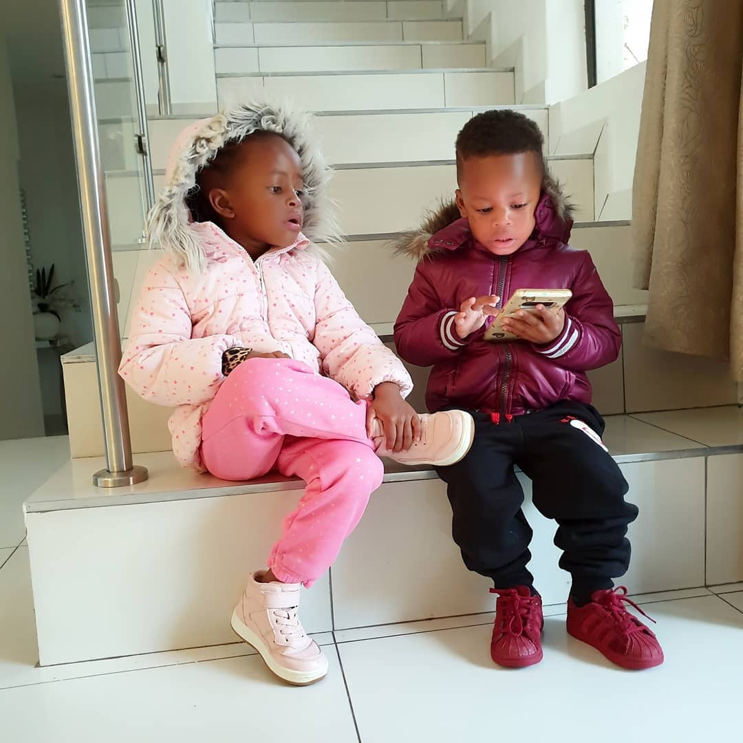 Diamonds kids - Ringtone kuja hapa! Diamond and Zari's daughter speaks fluent English