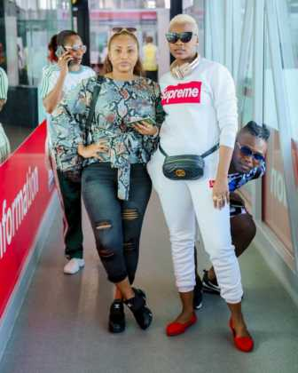 Esma Platnumz and half sister Queen Darleen 336x420 - Meet Kenya's Powerful Couples Who Everybody Is Jealous Of (PHOTOS)