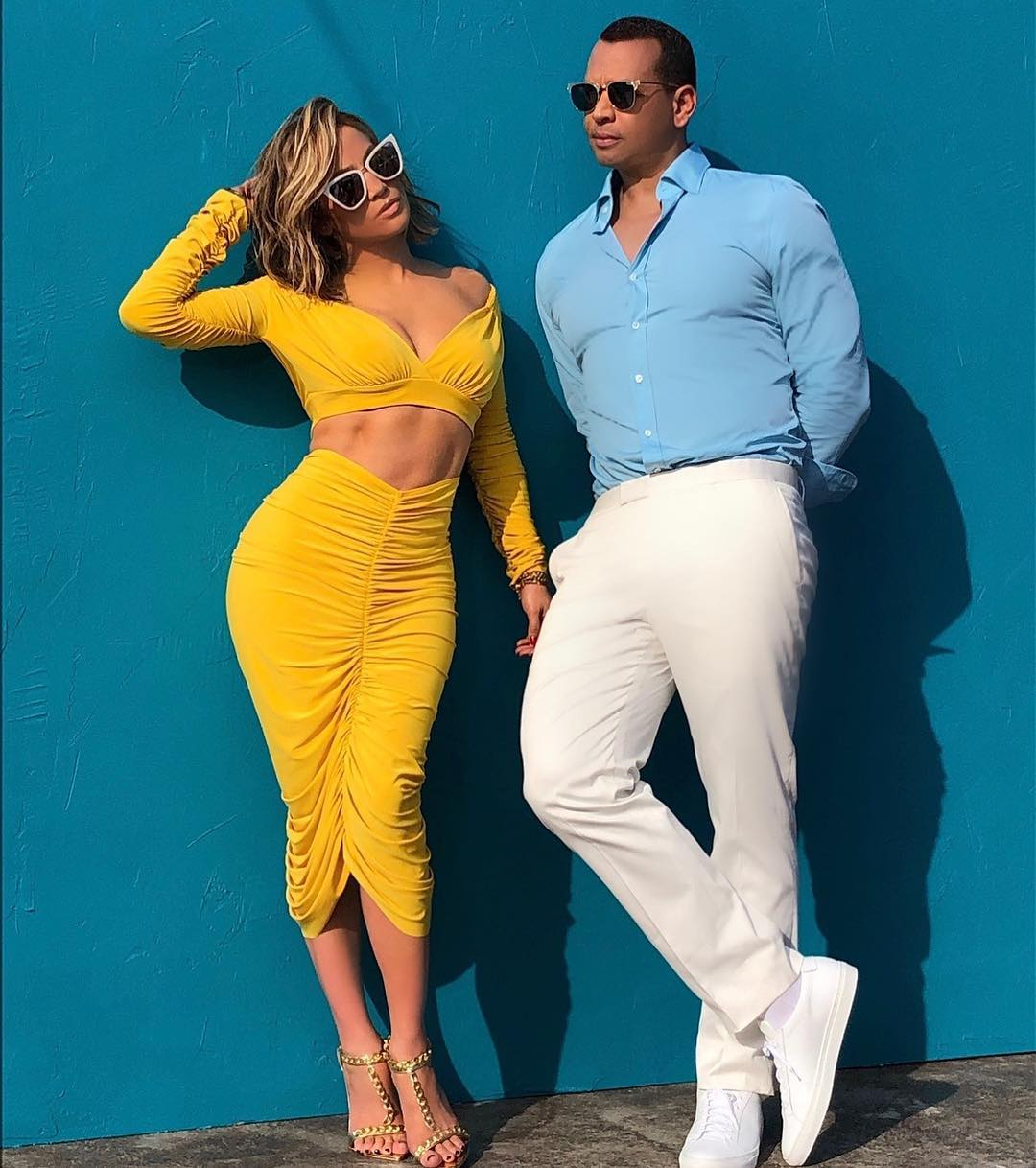 Jennifer Lopez says Puff Daddy apologised to Alex Rodrigues 1. Photo Credit. Instagram - Jennifer Lopez says Puff Daddy apologised to fiancee' A Rod after his awkward compliment
