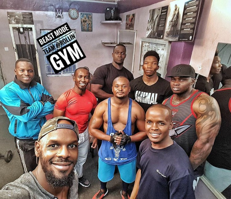 Khaligraph Jones in the gym - Exclusive: Khaligraph Jones responds to allegations of steroid use