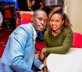 King Kaka and his wife Nana Owiti posing 286x250 - 'Dating a celebrity is both a blessing and curse' King Kaka's wife opens up