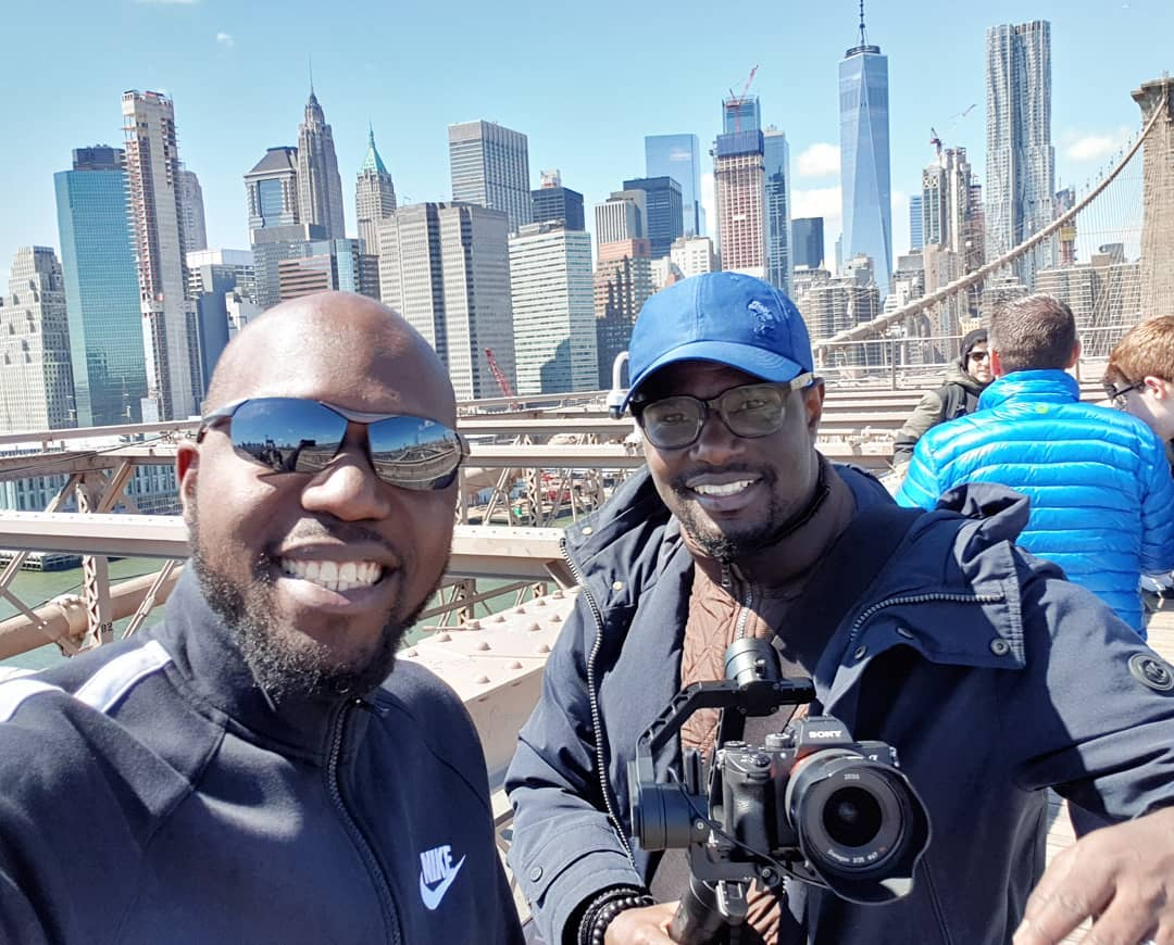 Larry Madowo has joined prestigious Ivy League university Columbia Journalism School. photo credit Instagram2 - Larry Madowo will be paid Shs. 6 million for 9 months! Journalist back in school