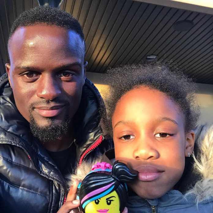 Mariga shared a photo of his cute daughter Kenisha1 696x696 - Mariga shares photo of daughter wearing expensive golden dress