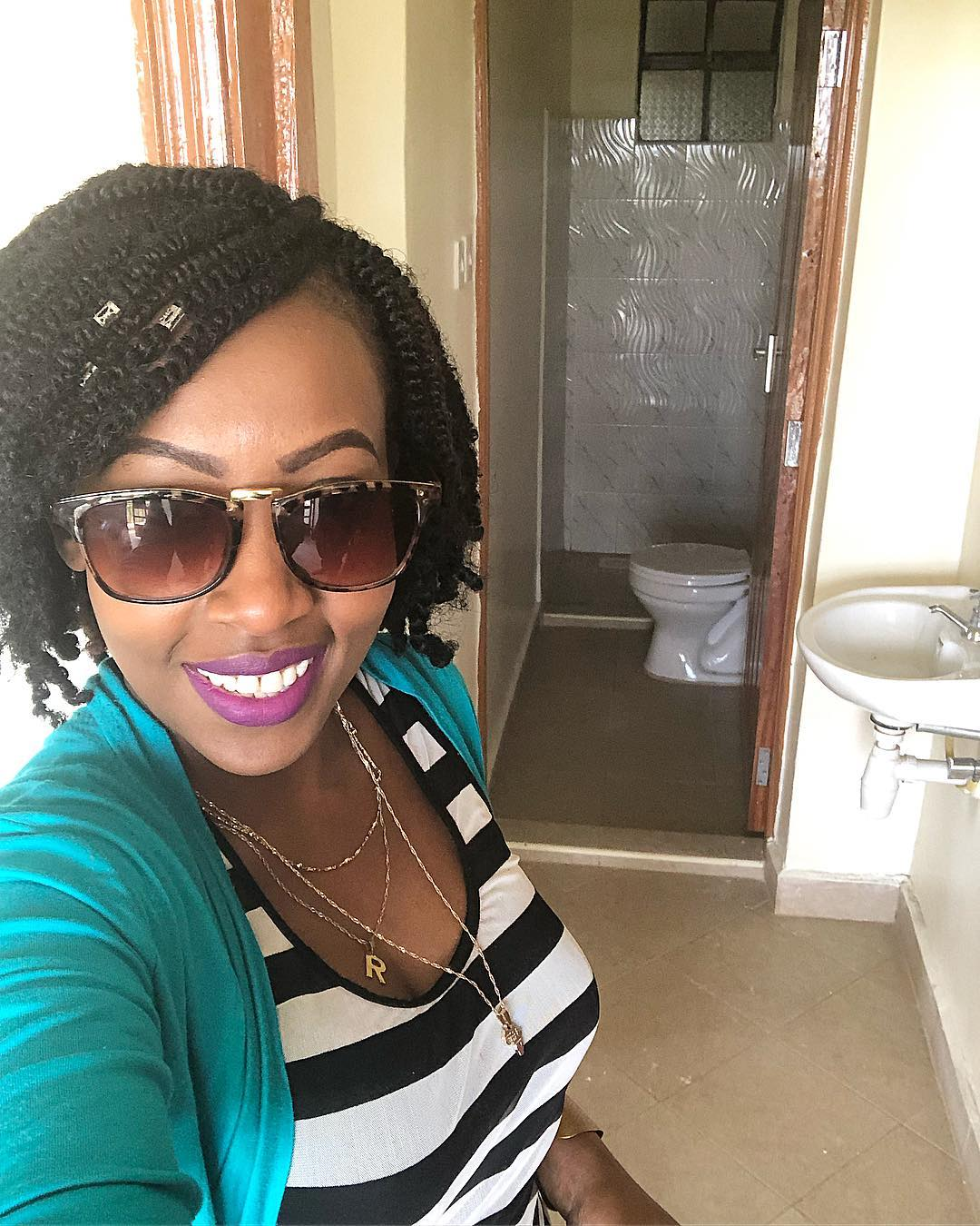 Mwalimu Rachel shows of her new home2 - Mwalimu Rachel ni landlord! Fans thrilled as she shows off her house(photos)