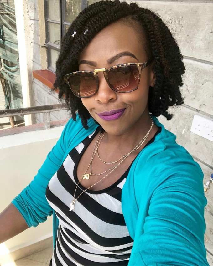MwalimuRachelshowsofhernewhome - Mwalimu Rachel ni landlord! Fans thrilled as she shows off her house(photos)