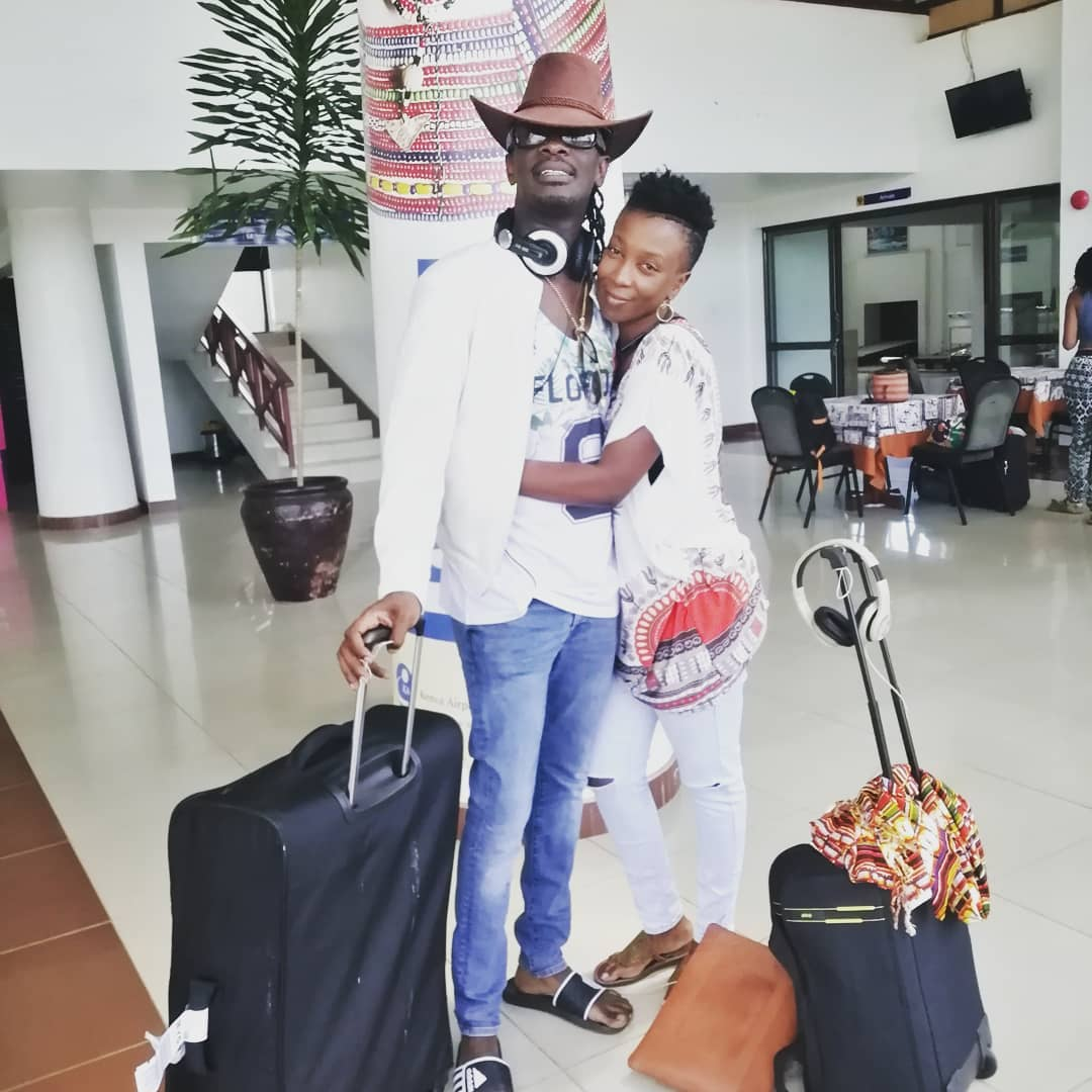 Nameless and his wife Wahu in a loving embrace - 'We struggled a lot especially at the beginning', Nameless reveals of his marriage