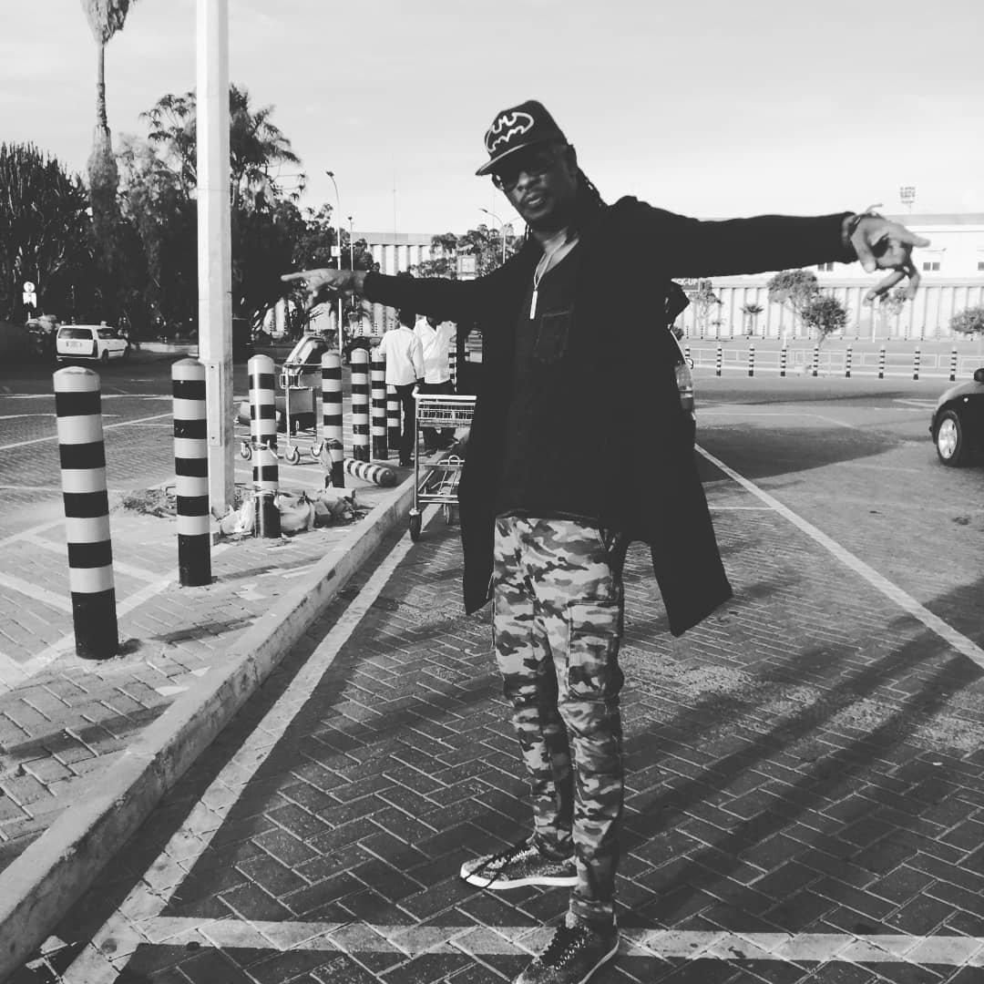 Nameless posing in a black and white photo - 'We struggled a lot especially at the beginning', Nameless reveals of his marriage