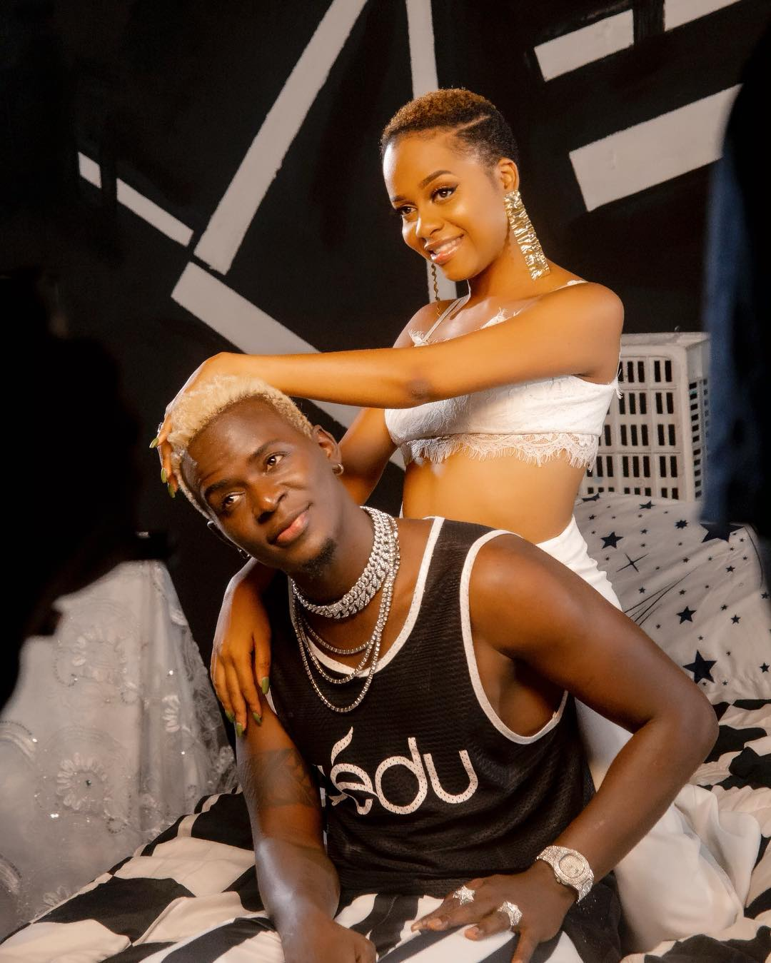 Nandy with Willy Paul - 'I 'kuna' one specific thing,' Willy Paul defends his thirsty ways
