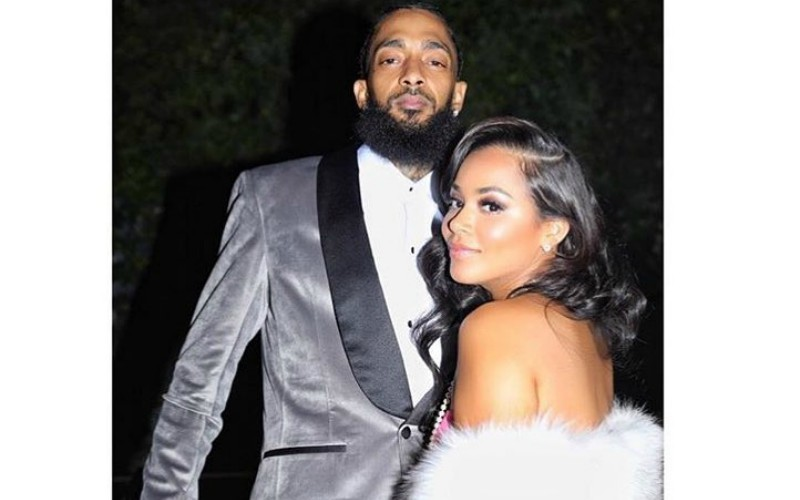 Nipsey and Lauren-