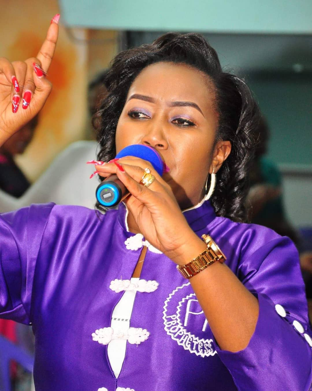 Prophetess Monica said that she went 11 years without lungula. photo credit: Instagram
