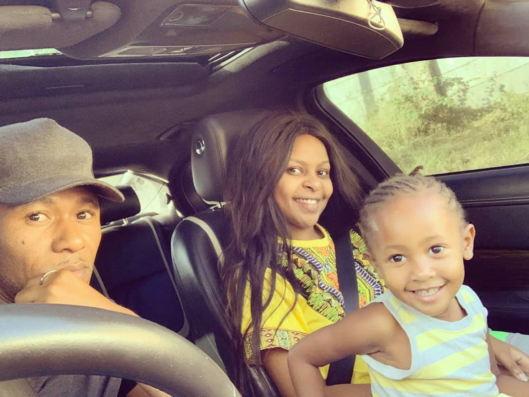 SIZE 81 - Check out photos of DJ Mo and Size8 cute daughter Ladasha