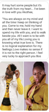 Screenshot from 2019 04 06 121959 - 'I want to spend all my life with you', love-struck boychild pens letter to Akothee