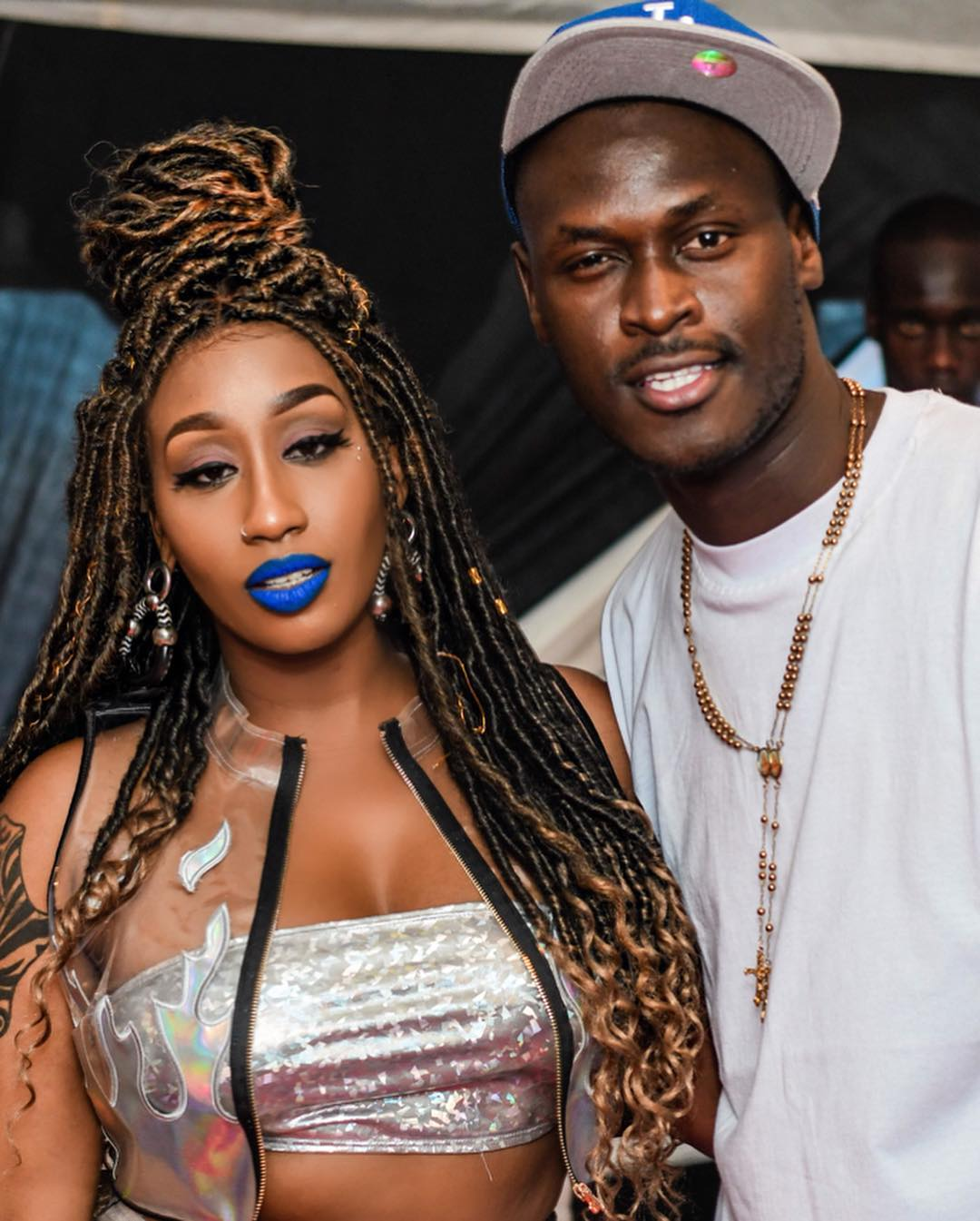 Victoria-Kimani-with-King-Kaka-at-the-event
