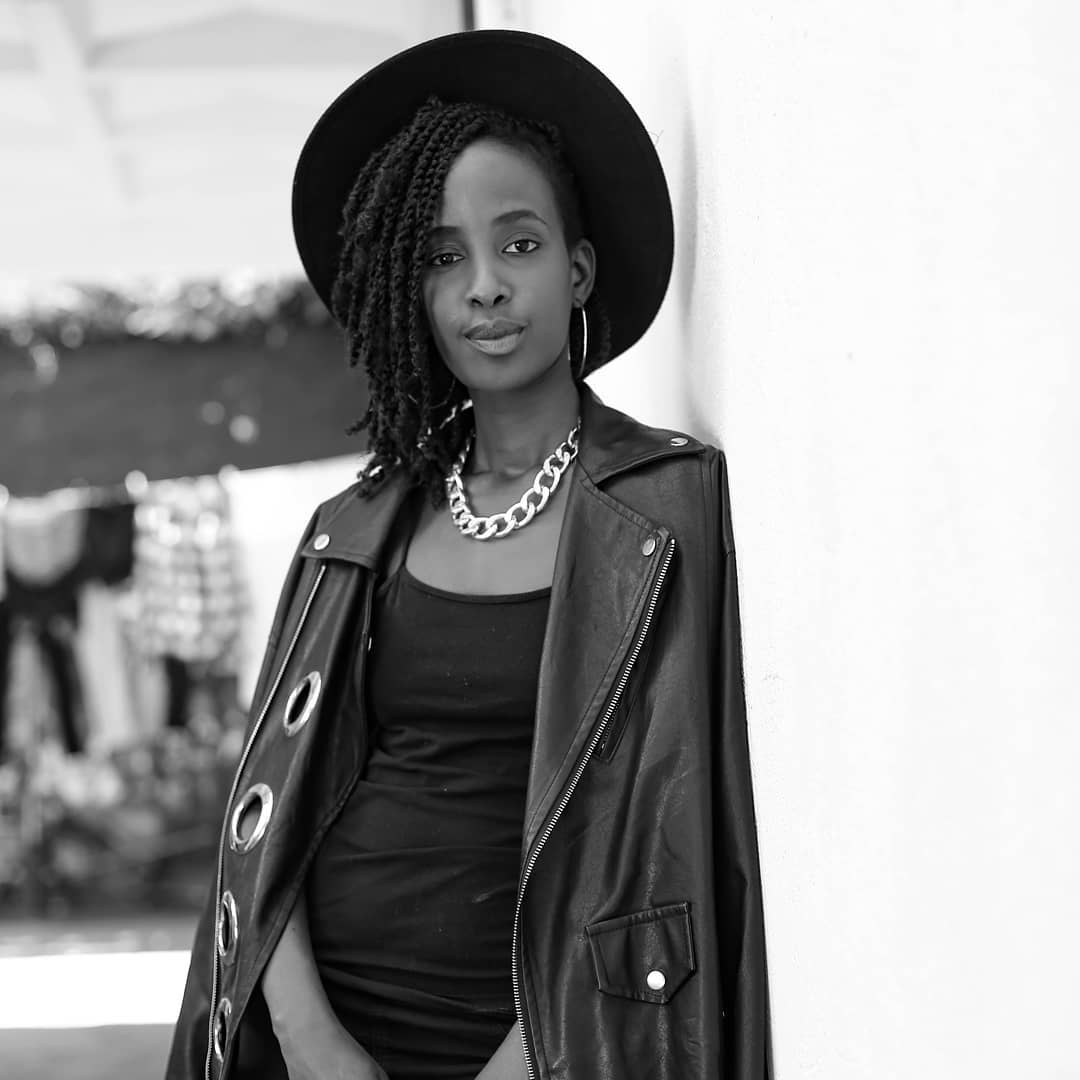 Wangechi posing - Who is the most attractive female celebrity in Kenya?(poll)
