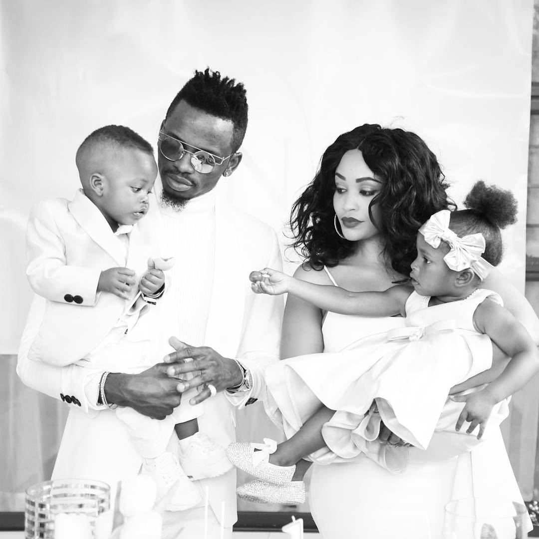 Zari and Diamond with their two kids in the past - Umeona hii? Tanasha's advice to Zari as she desires to meet her kids