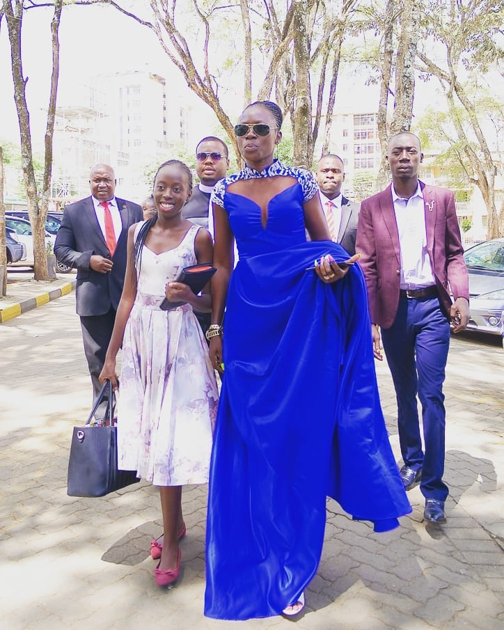 akothee and vesha - Like a boss! Akothee celebrates her 36th birthday