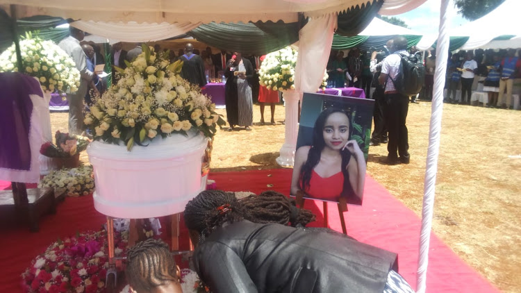ivy - RIP! Ivy's mother's last message as she's laid to rest