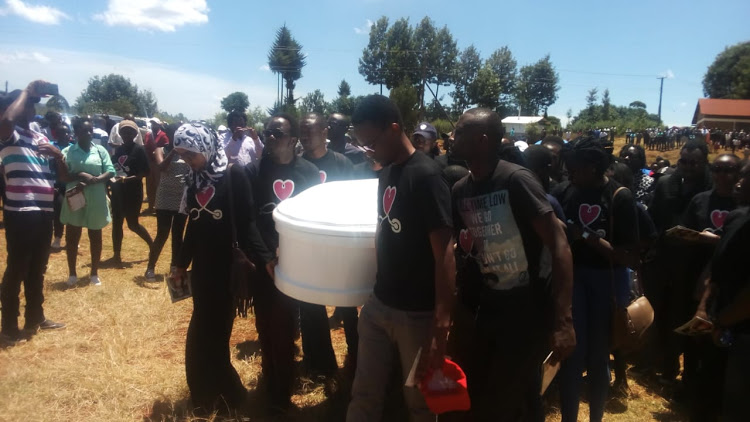 ivy3 - Rip! Ivy Wangeci laid to rest in an emotional funeral (PHOTOS)