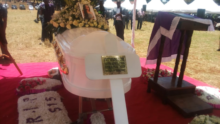 ivy4 - RIP! Ivy's mother's last message as she's laid to rest