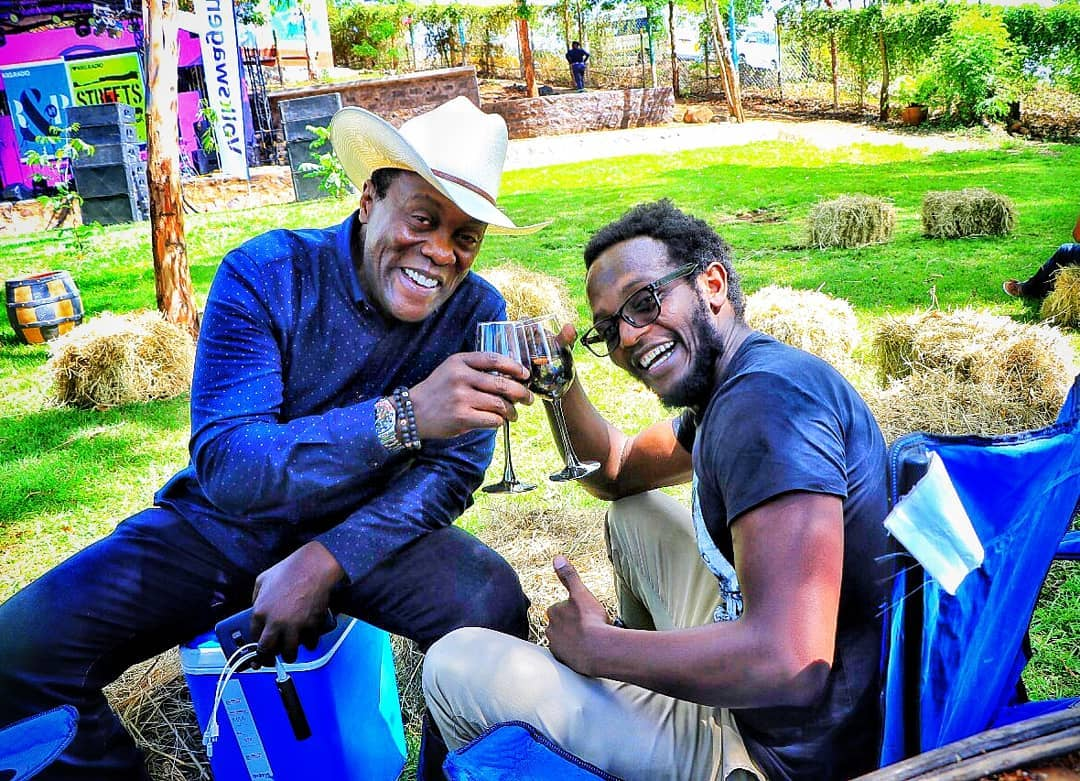 "jeff and professor hamo - ""I'm glad he wasn't there"" Jeff Koinange doesn't regret losing his dad"