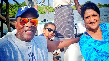 "jeff koinange ajamaml and wife - ""I'm glad he wasn't there"" Jeff Koinange doesn't regret losing his dad"