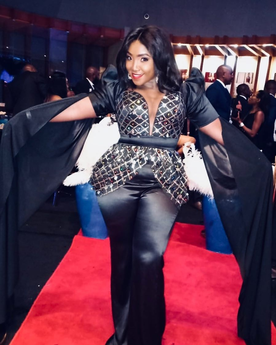 kae actres 1 - 7 Times Catherine Kamau stole the show on red-carpets (PHOTOS)