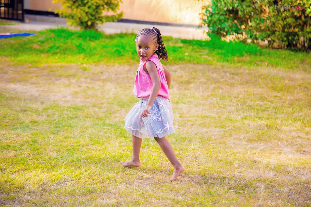 ladasha 2 - Check out photos of DJ Mo and Size8 cute daughter Ladasha