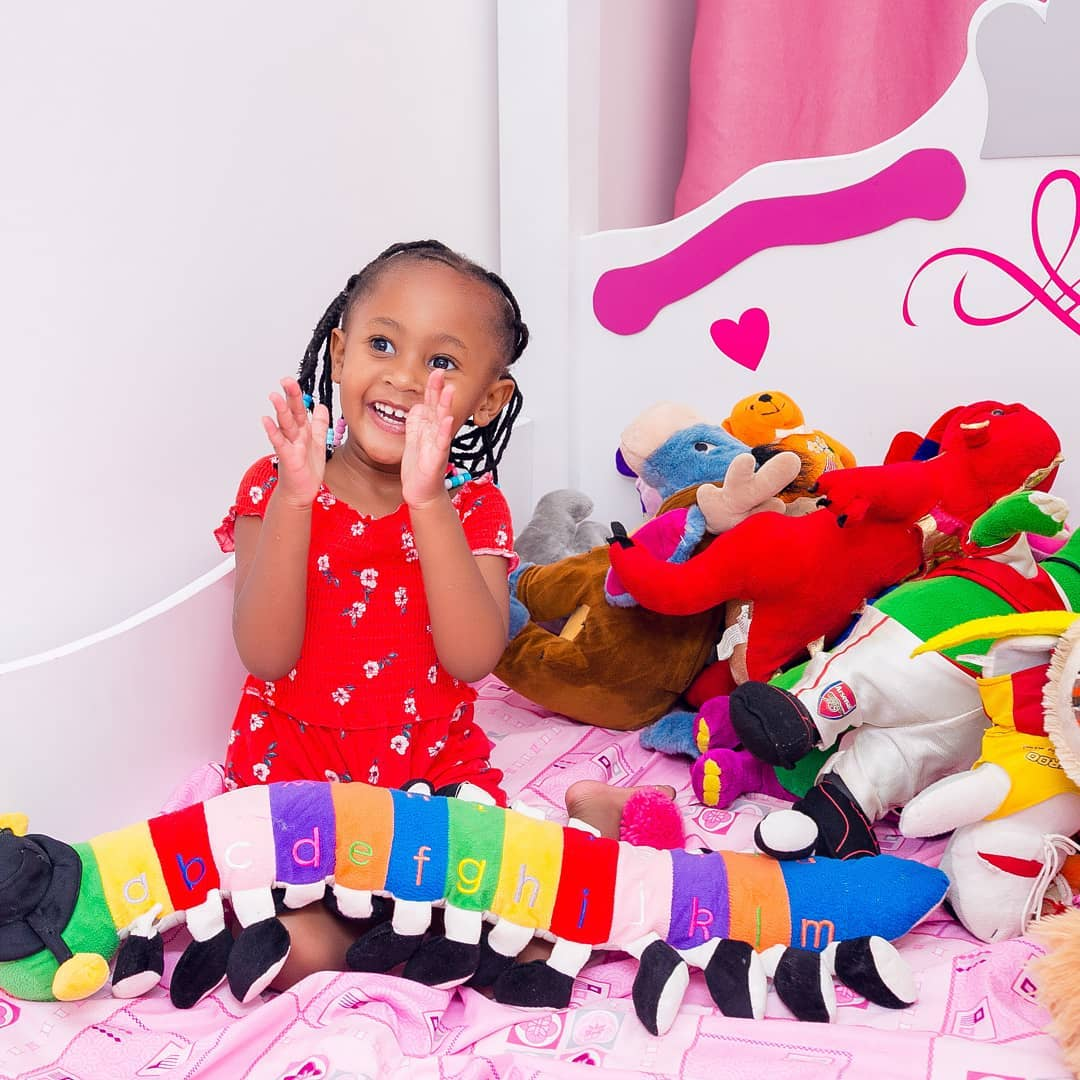 ladasha four - Check out photos of DJ Mo and Size8 cute daughter Ladasha