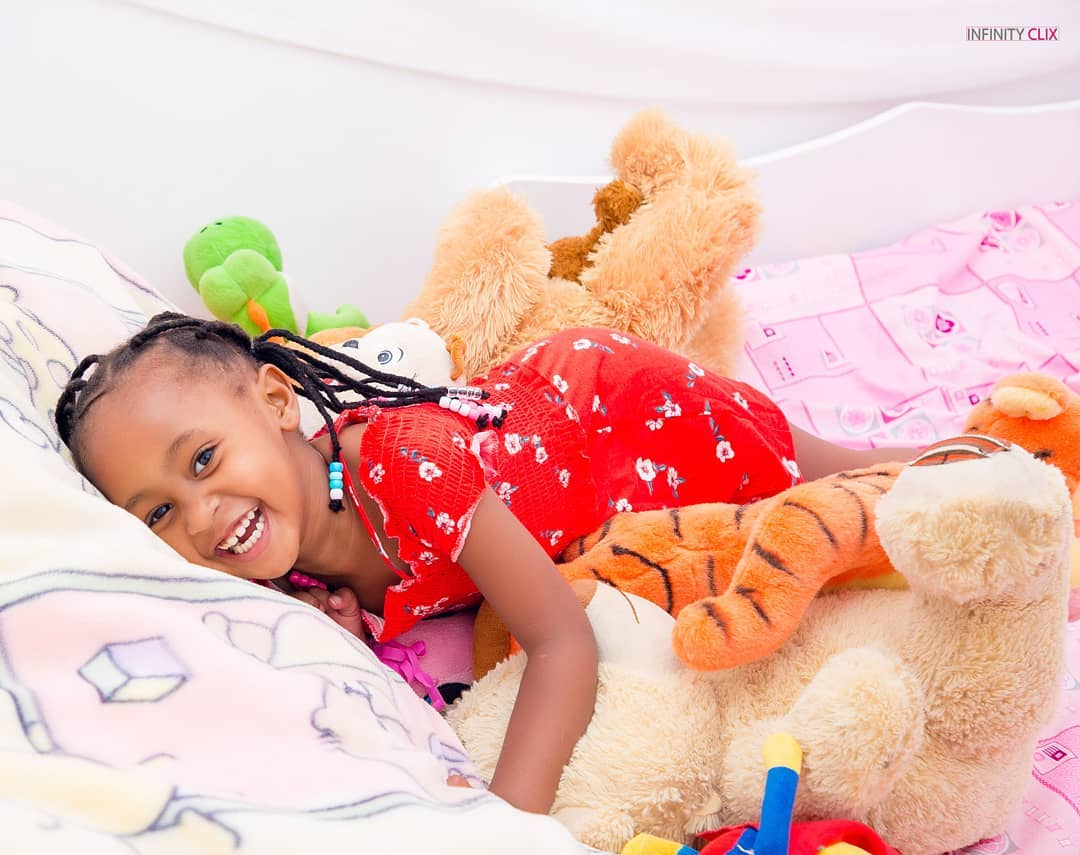 ladasha three - Check out photos of DJ Mo and Size8 cute daughter Ladasha