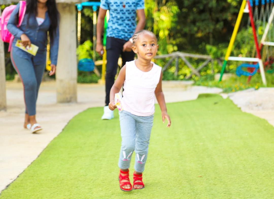 ladasha3 - Check out photos of DJ Mo and Size8 cute daughter Ladasha