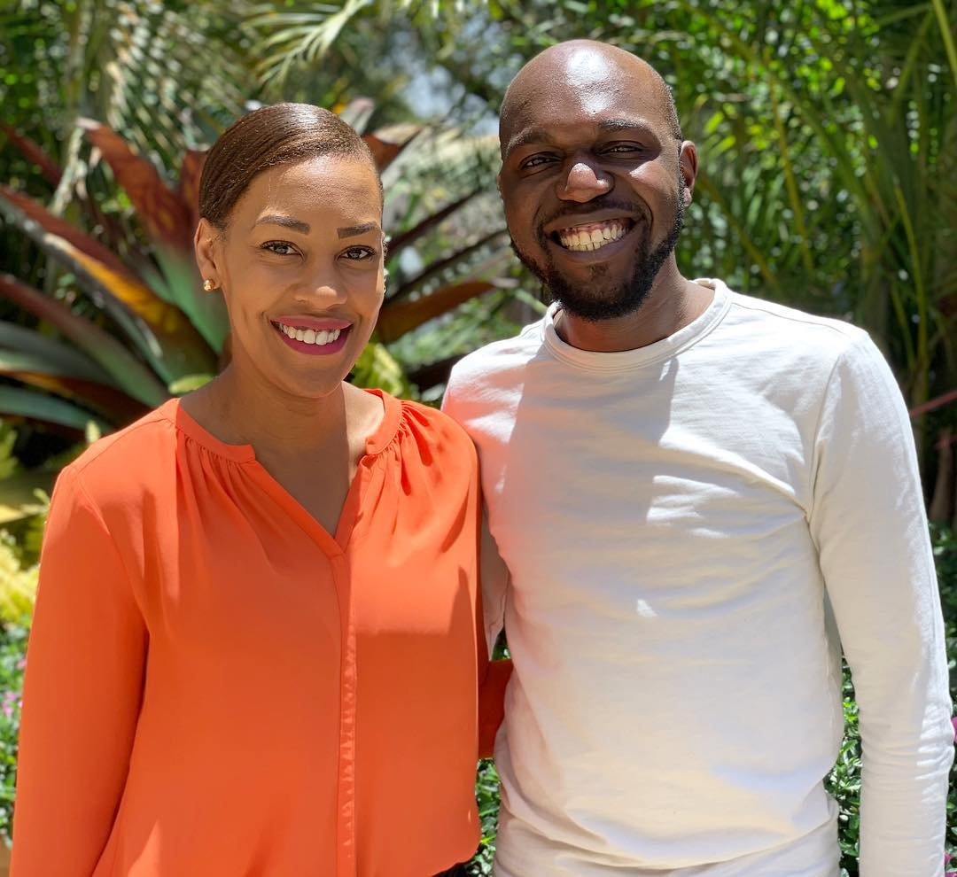 larr madowo and victoria rubaridi - News anchor Larry Madowo celebrates his 32nd birthday