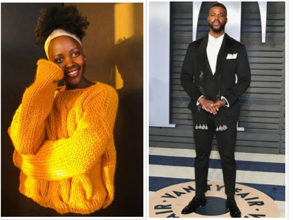lupita and winston - Instagram-in-laws go crazy over Lupita Nyong'o's flirty comment