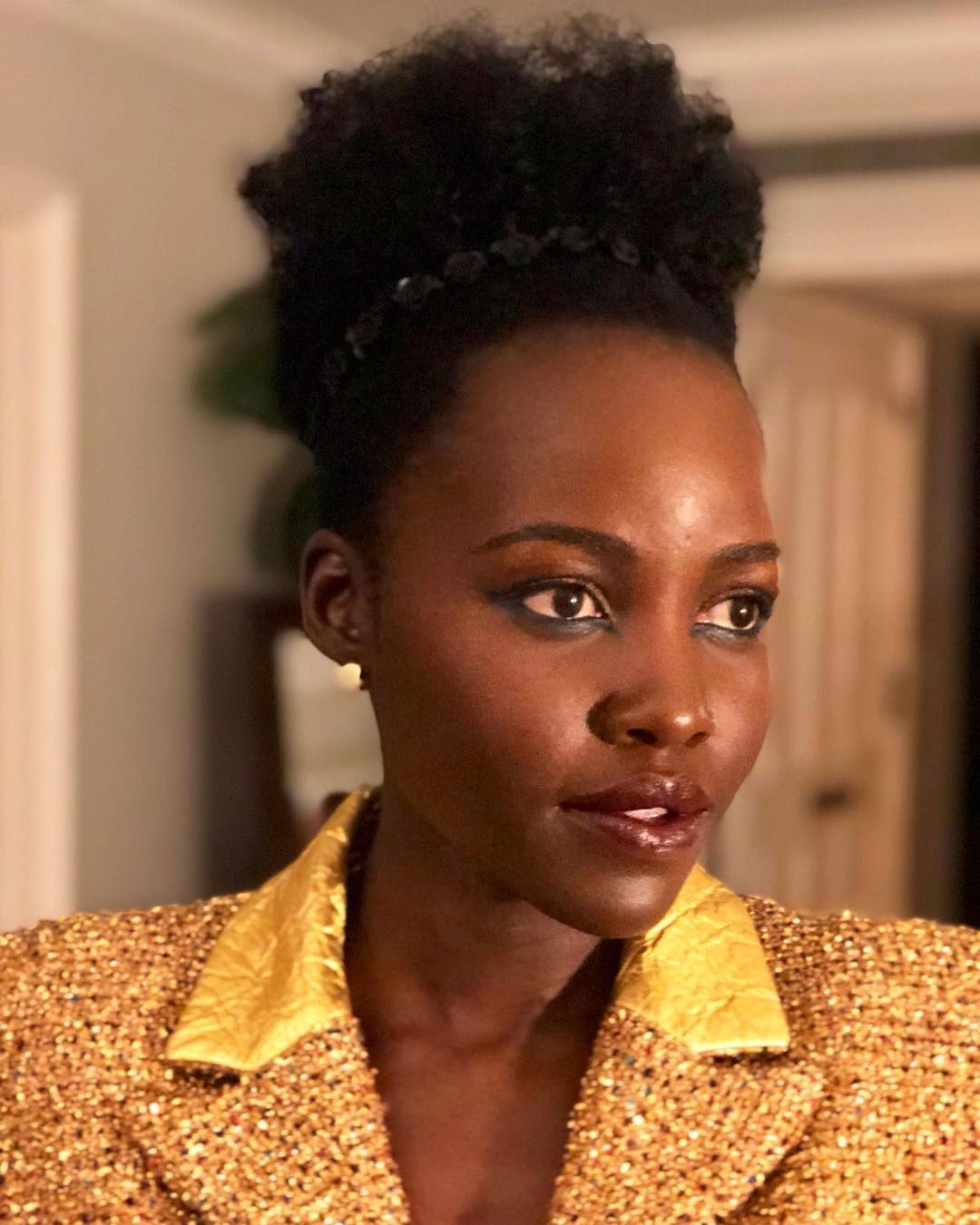 lupita two - Nyako maber! Check out different hair styles that Lupita has rocked (PHOTOS)