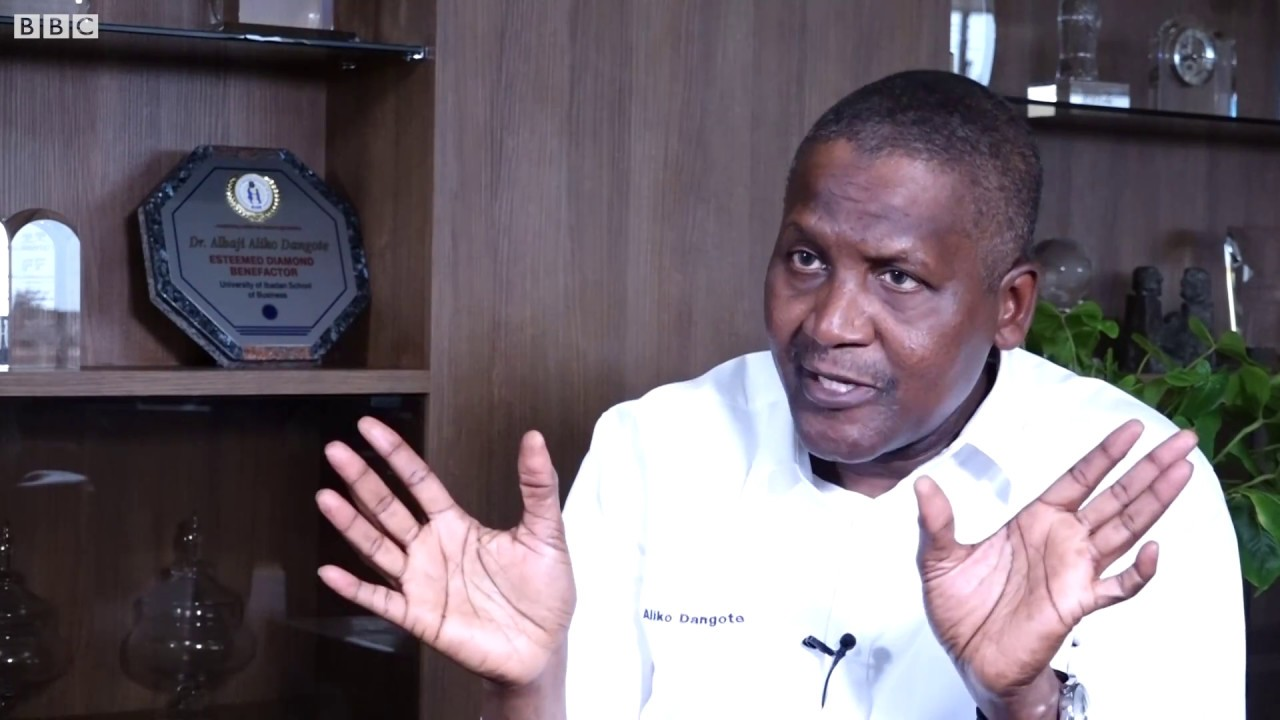 maxresdefault 1 - Aliko Dangote once withdrew 1 billion shillings just to stare at it!