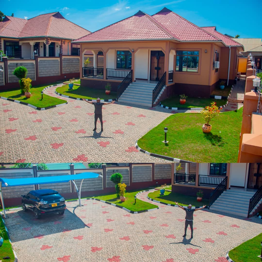 """mbosso - """"Asante Mola"""" Mbosso shows off the luxurious bungalow he has built"""