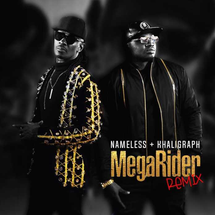 mega rider cover 696x696 - Nameless and Khaligraph team up to remake classic hit Megarider