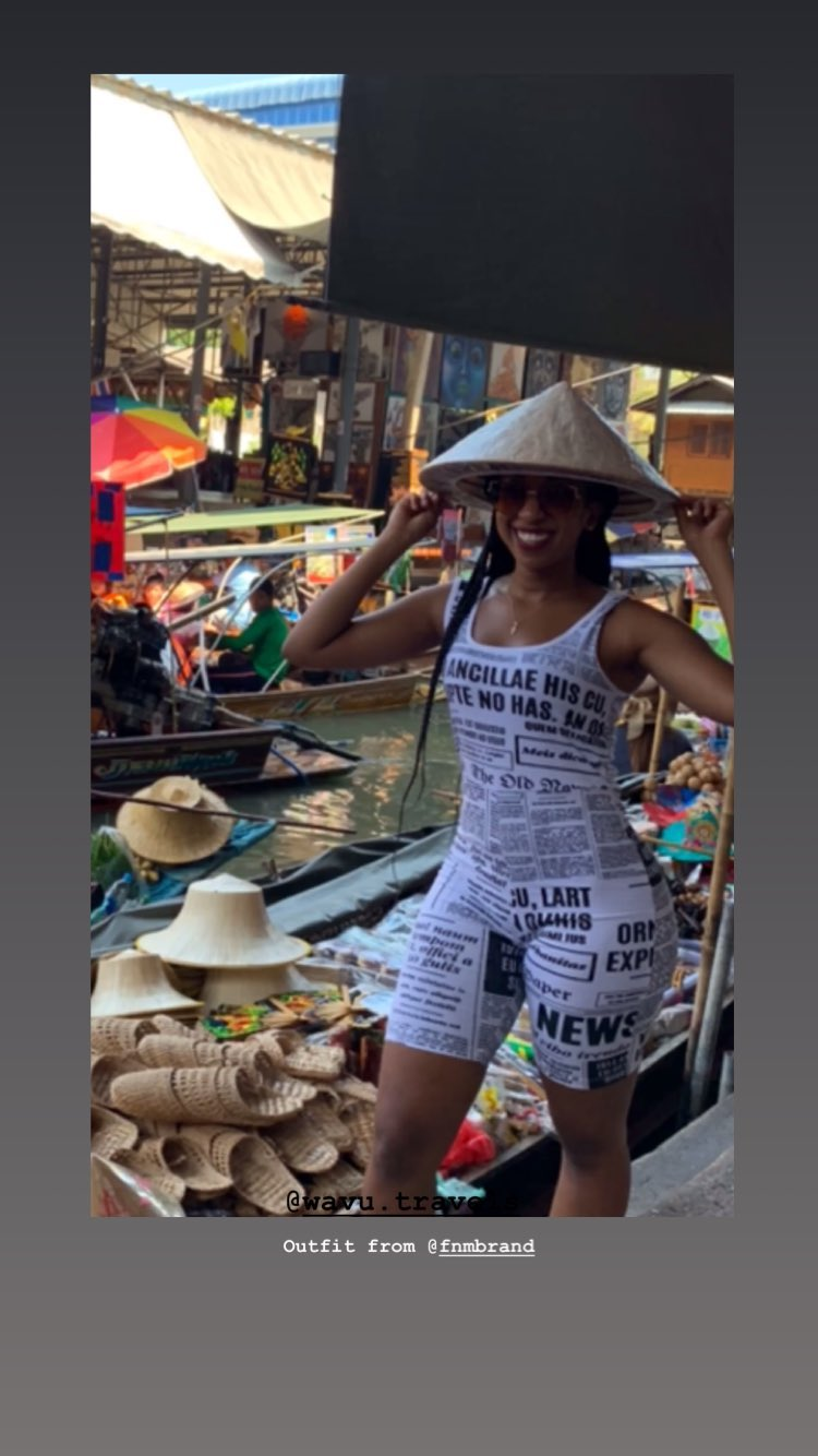 natalietewas story on Instagram uploaded 17.04.2019 17.40 GMT - Baller! Vlogger Natalie Tewa goes on vacation to Thailand