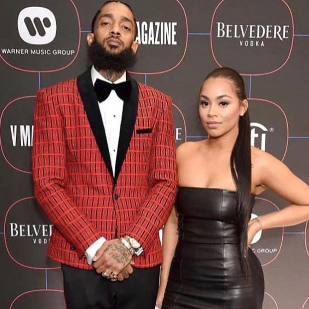nipsey 2 - Rapper Nipsey Hussle and Lauren London served relationship goals (PHOTOS)