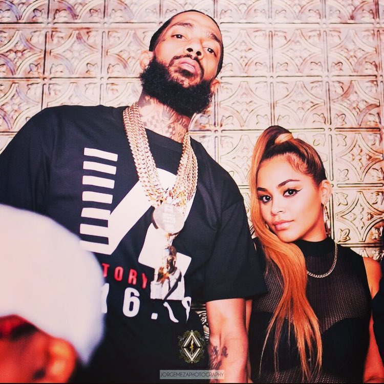 npsey 5 - Rapper Nipsey Hussle and Lauren London served relationship goals (PHOTOS)