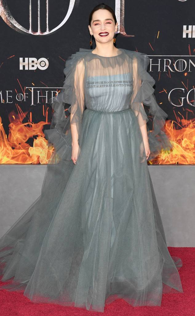 rs 634x1024 190403154333 600 Emilia Clarke game of thrones season8 - Check out how stars dazzled at the premier of Game of Thrones