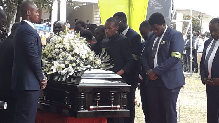 unnamed2 - 'You will meet with your mama' Read former President Moi's tribute to son