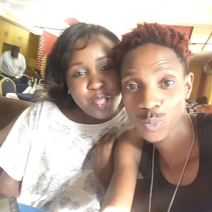 Cate Maribe and Eric Omondi