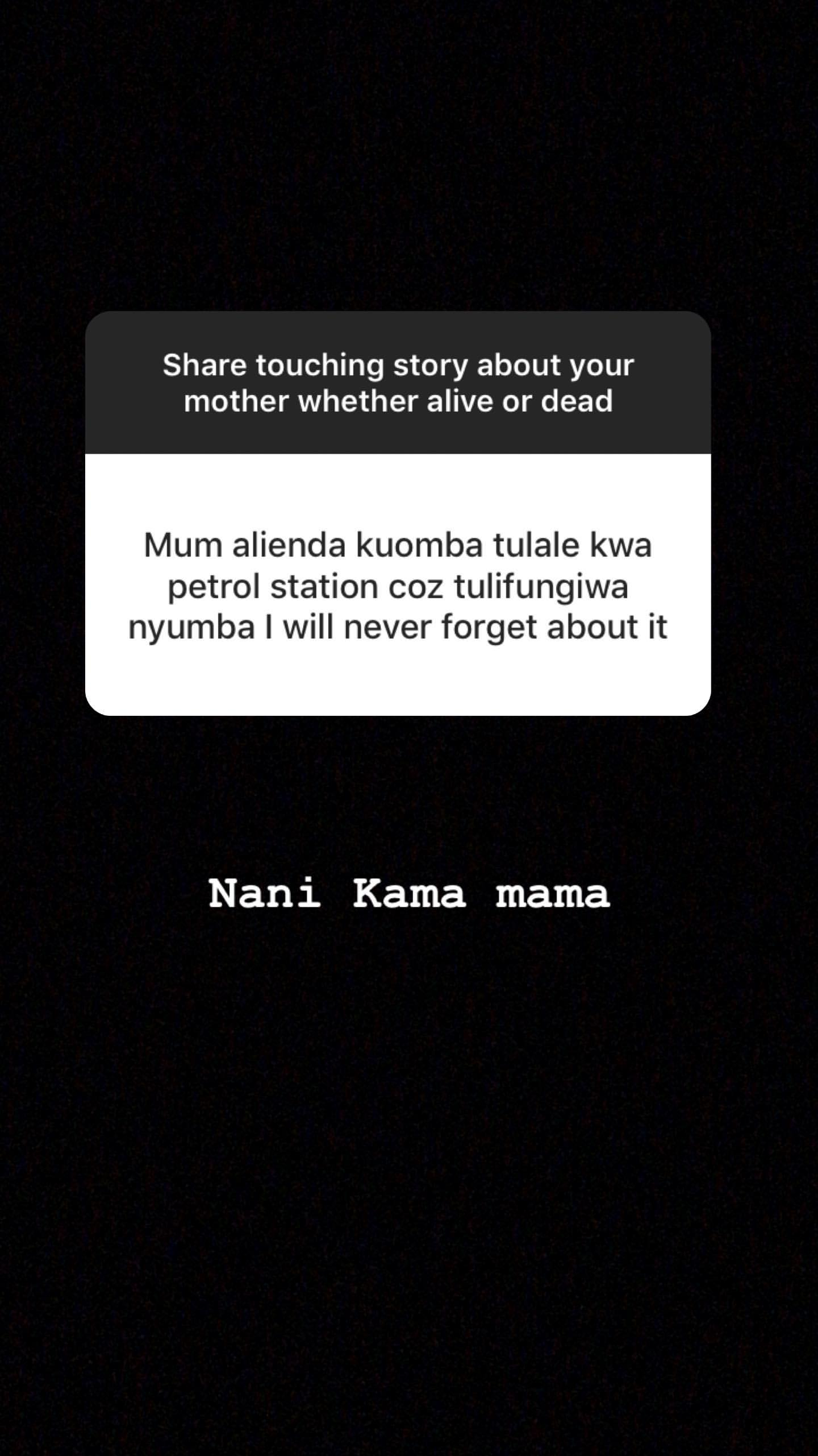 59189182 663310734111397 8319199107986351098 n - Tear-jerking! Mpasho fans break down sharing touching stories about their mothers