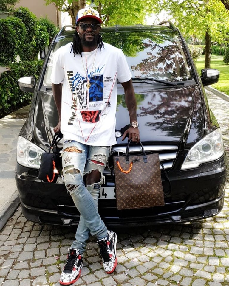 59301712 2459824230718025 1655161876255866880 n - Emmanuel Adebayor leaves women heartbroken, Dillish Mathews confirms they're dating