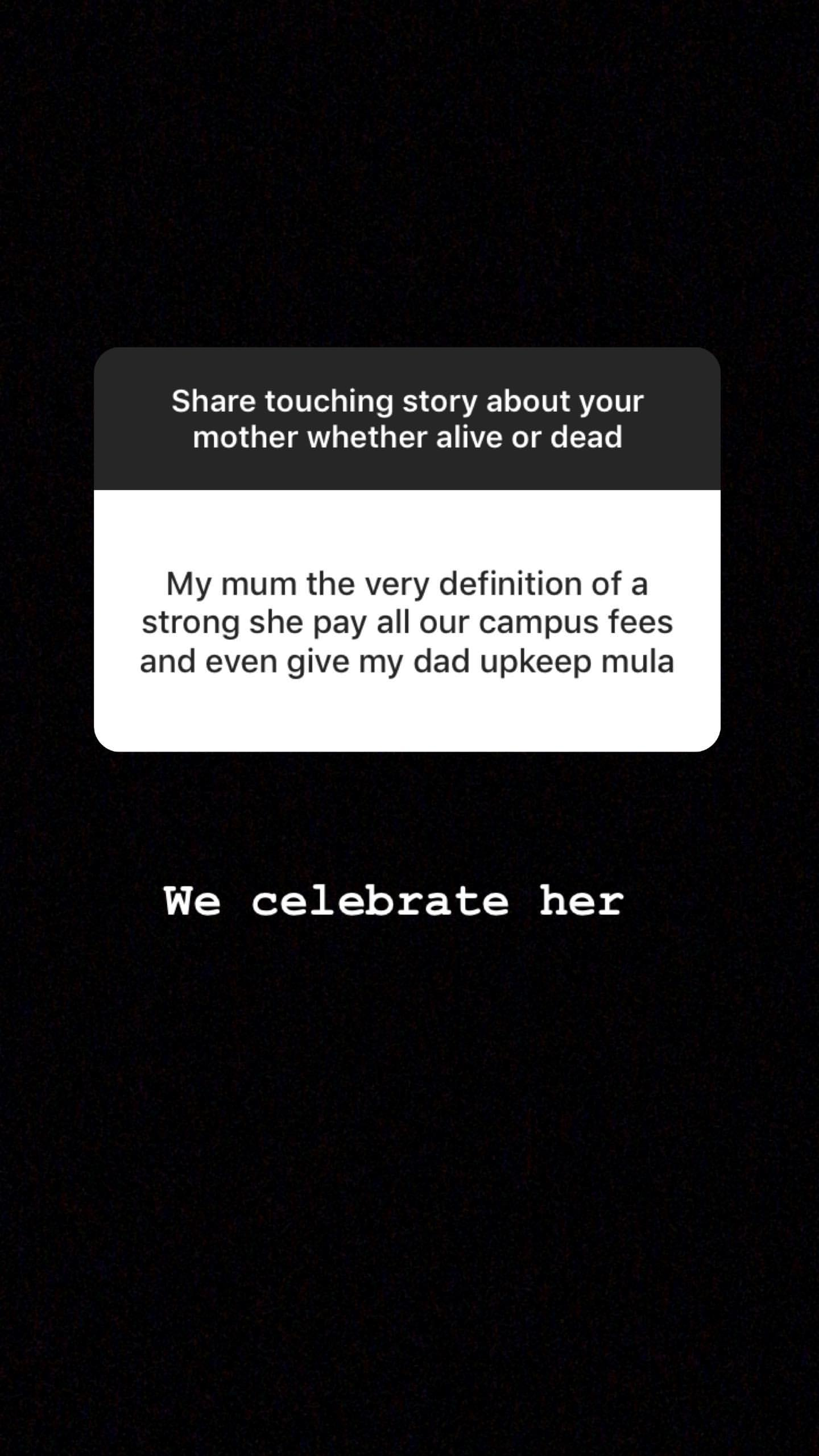 59335092 349157965958530 3284201239733778094 n - Tear-jerking! Mpasho fans break down sharing touching stories about their mothers